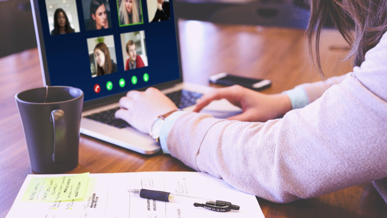 Video calls in times of covid