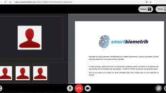 videofirma de smartbiometrik. Firma electronica